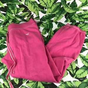 5 for $25 PINK VS Pink Spellout Butt Sweatpants